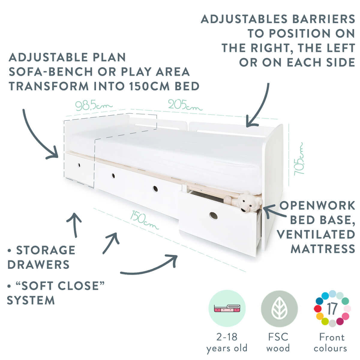 colorflex-by-ak-abitare-kids-convertible-kids-bed